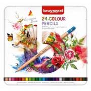 Bruynzeel Kleurpotloden Bruynzeel Expression Colour Blik 24 Stuks