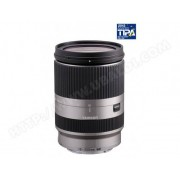 TAMRON Objectif Hybride 18-200mm f/3.5-6.3 Di III VC silver Sony