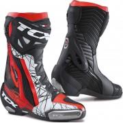 TCX RT-Race Pro Air botas de moto perforadas de color rojo-rojo Negro Blanco Rojo 48