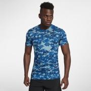 Haut de trainingà manches courtes Nike pour Homme - Bleu