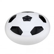 Colawind Air Power Football Disc,Pneumatic Suspended Disc Soccer with Foam Bumpers and Colorful LED Lights for Indoor & Outdoor