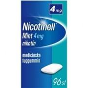 Nicotinell Tuggummi 4mg (Läkemedel) 96 st/paket