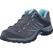 Salomon Ellipse Aero W Ptr/dtr/Fair Aqua, Skor, Sneakers & Sportskor, Walkingskor, Blå, Dam, 36