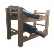 Стойка за бутилки от бамбук - 6 бутилки Vin Bouquet