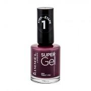 Rimmel London Super Gel STEP1 smalto gel per unghie 12 ml tonalità 054 Trust You donna