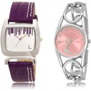 The Shopoholic Silver Pink Combo Fashionable Funky Look Silver And Pink Dial Analog Watch For Girls Girls Watches Fashion