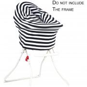 EB Multifunctional Recien Nacido Baby Car Seat Elástica Cubierta Tapa Carro De Dosel - Negro
