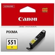 Cartus cerneala Canon CLI-551Y (Galben)