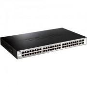 D-Link 48 10/100/1000 Base-T port with 4 x 1000Base-T /SFP port - DGS-1210-52