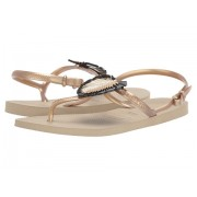 Havaianas Freedom Metal Pin Sandal Sand Grey