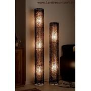 1a Direktimport Extra hohe Stehlampe Stehleuchte Rattanlampe