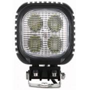 Munkalámpa 4 CREE LED-es (125x155mm) kombinált fény 40W!!