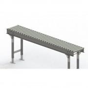Gura Rollenbahn, Stahlrahmen mit Stahlrollen verzinkt Bahnbreite 300 mm, Achsabstand 62,5 mm Länge 2 m