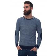 US Polo Assn Pullover girocollo Blu medio Cotone Uomo