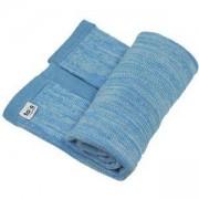 Бебешко плетено одеяло Joy line, toTs, синьо, 011247