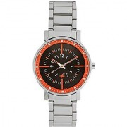 Fastrack Varsity Analog Silver Dial Womens Watch-6172SM02