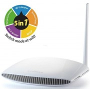Router Wireless Edimax BR-6228NS V3, 150Mbps, 5 in 1 (Router, Access Point, Range Extender, Wi-Fi Bridge, WISP), Antena cu amplificare 5dBi