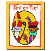 Sint en Piet (BE) Voorleesboekje met jouw naam