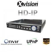 NVR rekordér HD IP pro 16/20 kamer 1080p / 720p
