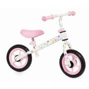Bicicleta Molto Minibike Rosa Sin Pedales Y Con Casco
