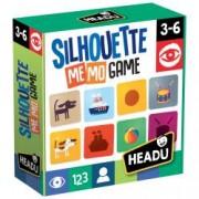 Joc De Memorie Siluete.Include 50 de cartonase diferite.