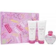 Moschino Pink Bouquet Set de Regalo 50ml EDT + 100ml Loción Corporal + 100ml Gel de Ducha