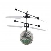 ER Infrarrojo Inducción Flying Flash Disco Colorido De La Bola LED Helicóptero De Juguete Para Niños