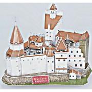 Cubicfun Castelul Bran Romania Puzzle 3D 93 de piese