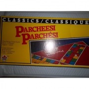 Classics Parcheesi; The Classic Chase Game