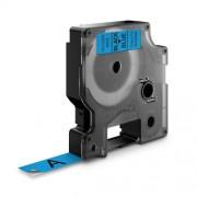 Dymo D1 DY45016 laminált feliratozószalag 12mm fekete/kék