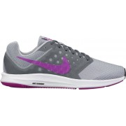 Nike Downshifter 7 W - scarpe running neutre - donna - Grey/Fuchsia
