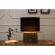 Stolná lampa Aeldra 40cm čierna