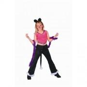 Rg Costumes 91193-L Rock Star Cat Costume - Size Child-Large