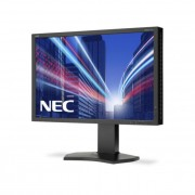 NEC monitor MultiSync LCD P242W 24\ wide, IPS, DVI, HDMI, DP, fekete