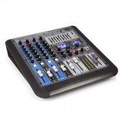 Power Dynamics PDM-S604, mixer muzical, 6 canale, DSP/MP3, port USB, receptor bluetooth (Sky-172.620)