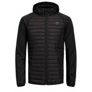 JACK & JONES Gewatteerde Jas Heren Zwart / Black / M