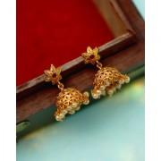 Voylla Southern Trance Jhumka Style Drop Earrings For Women
