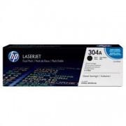 HP 304A lasertone combo pack 2 stk original -5600 sidor