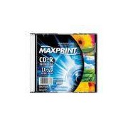 Cd-R Maxprint 52x 700mb / 80min Slim Case Ref.. 50157-6 C/1