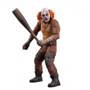 DC Collectibles Batman: Arkham City: Series 3 Clown Thug with Bat Action Figure, Multicolor