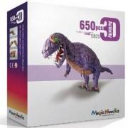Игрален комплект Меджик нудълс - 650 броя, 3D Динозавър Тирекс, 870007