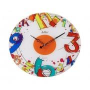 Ceas de perete Adler 5180-5 Sticla Multicolor 38 cm