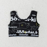 LoowFAT KIDS Girls Swimsuit Black