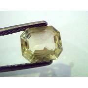 2.47 Ct Unheated Untreated Natural Ceylon Yellow Sapphire/Pukhraj