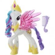Figurina Hasbro My Little Pony the Movie Glitter and Glow Princess Celestia
