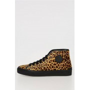 Stella McCartney Sneakers Leopardate in Eco Pelle Scamosciata taglia 44