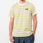 HUF Rockaway Knit Top Tee Aurora Yellow