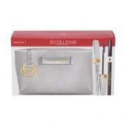 Collistar Shock подаръчен комплект спирала 8 ml + молив за очи 2 g Black + козметична чантичка Piquadro за жени Black Shock