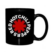Red Hot Chili Peppers Bögre - Astrisk Logo - Fekete - RTRHCMUBAST