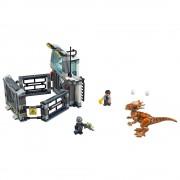 Lego fuga del stygimoloch lego jurassic world 75927